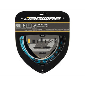 Jagwire 2X Elite Link Set Cable Cambio, azul